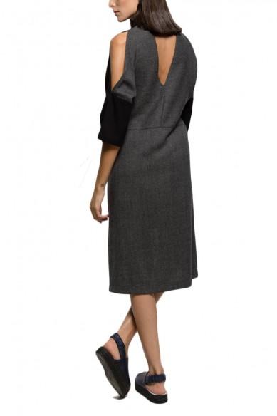 Aida tie dress